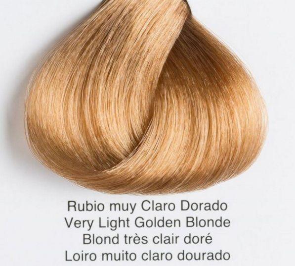 Tonos Carta De Colores De Pelo Issue Tinte De Pelo Shining Chroma 9 3 Rubio Muy Claro Dorado Como