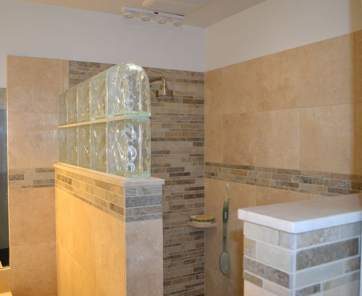Master Bathroom No Door standard shower walk in no door | beautiful walk in shower no door