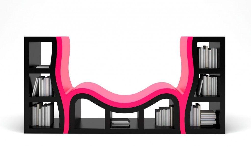 Pop art furniture pop art design bookcase furniture for Muebles pop art