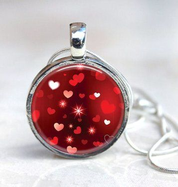 Red Hot Interchangeable Necklace Set