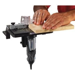Dremel rotary tool shaperrouter table to sand edge groove and the dremel rotary tool shaper router table is perfect to attach directly with workbench it is suitable for slotting edge trimming grooving and sanding of keyboard keysfo Gallery