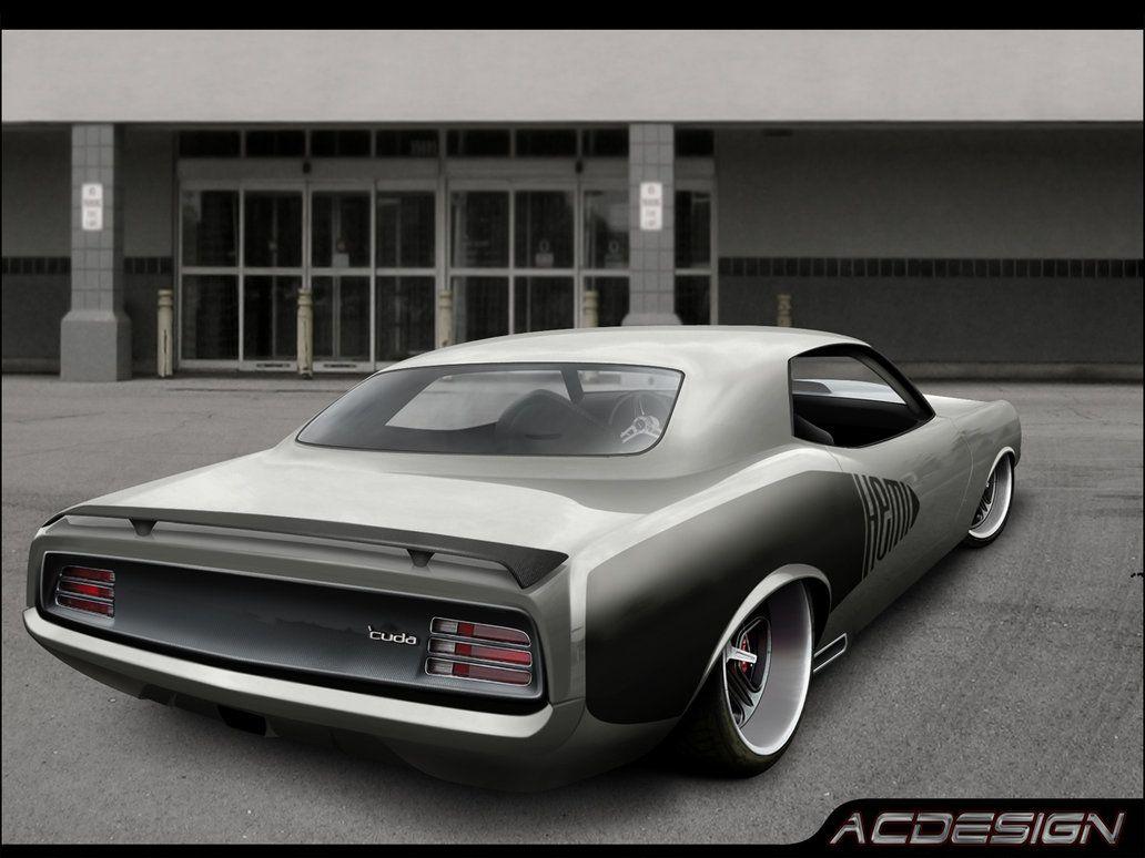 Plymouth cuda hemi by ac design