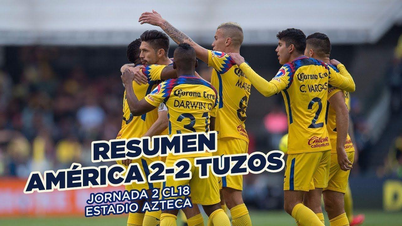 RESUMEN Club América 22 Pachuca Todos los goles de la