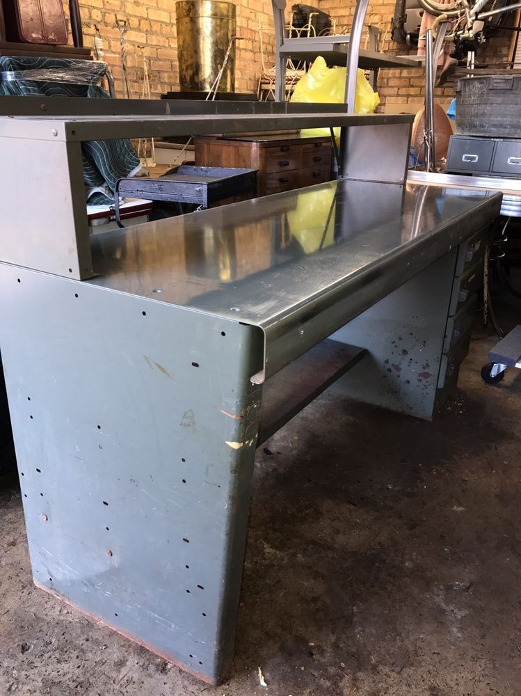 Pleasant Vintage Industrial Equipto Steel Workbench W 4 Drawers Andrewgaddart Wooden Chair Designs For Living Room Andrewgaddartcom