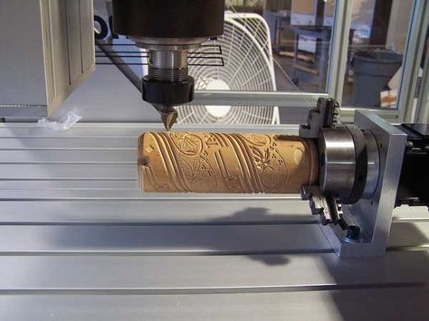 Cnc 4th Axis Basics Routers And Woodworking