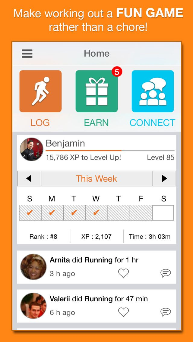 NexTrack – The mPoints exercise and weight loss tracker for