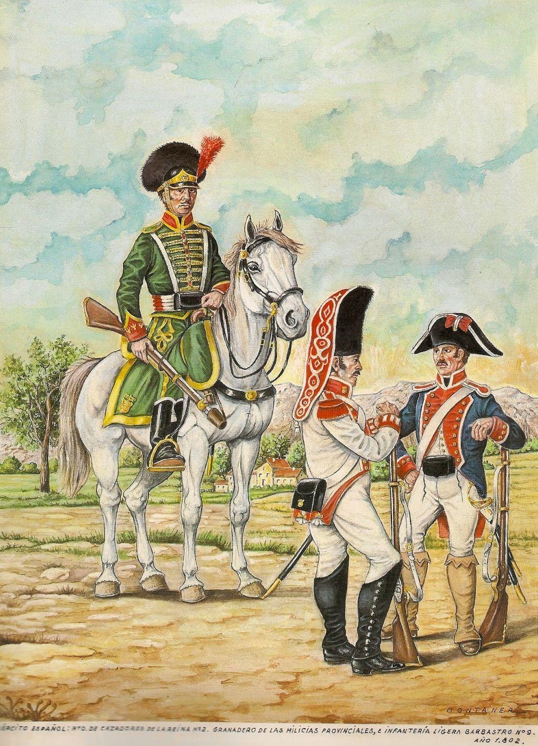 Reina 1802 Cazadores