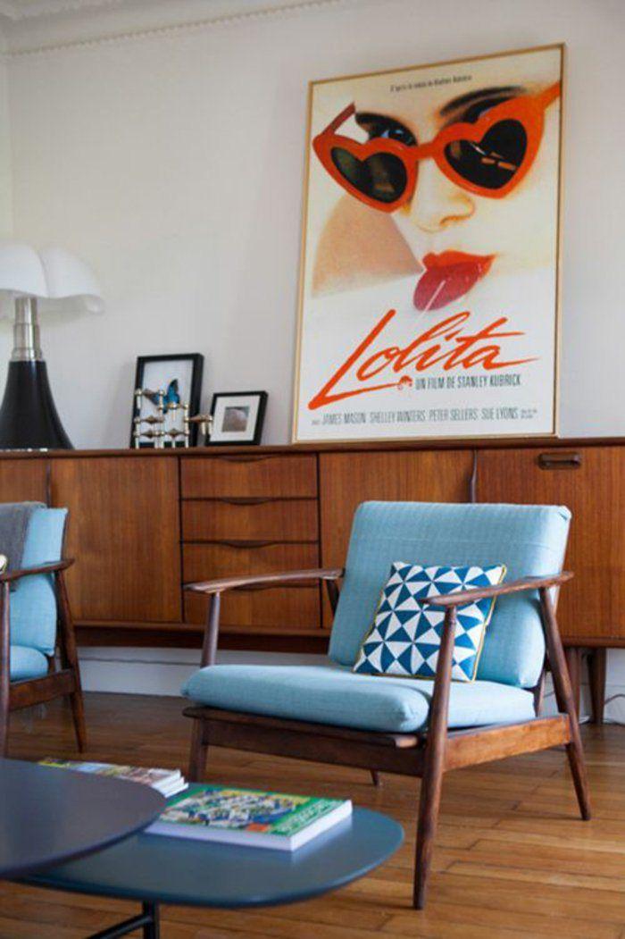 4. modern retro living room … | lovely interiors. | Retro…