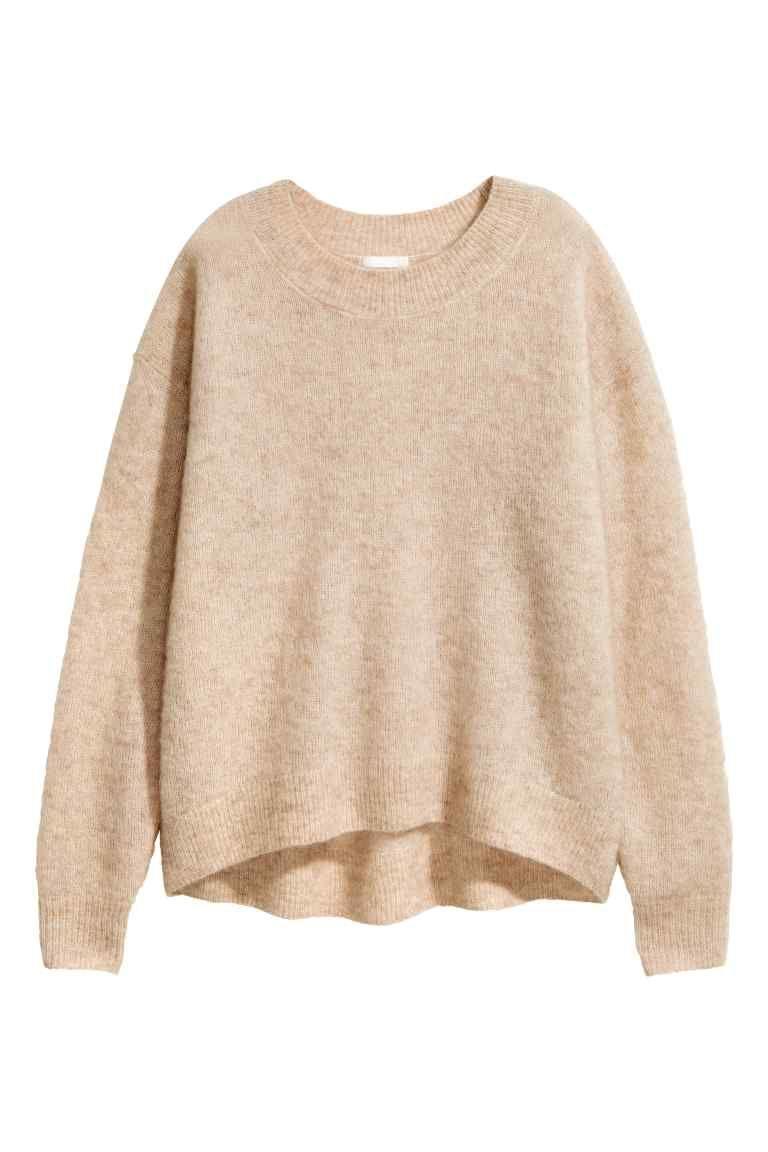Camel Trui Dames.Trui Van Mohairmix Fashion Pullover H M En Wolle Kaufen