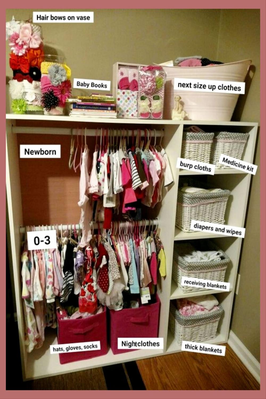37 Baby Closet Organization Ideas Nursery Closet Organization