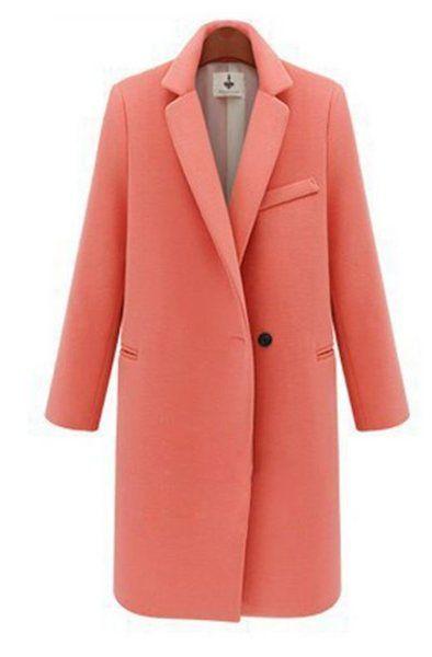 Short sleeve cotton jacket. Salmon Pink large size jacket