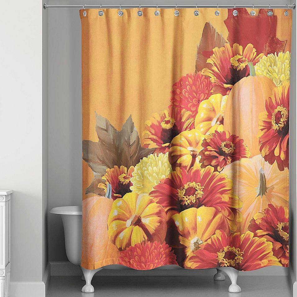 Autumn Harvest Shower Curtain Harvest Shower Fall Bedding Bed