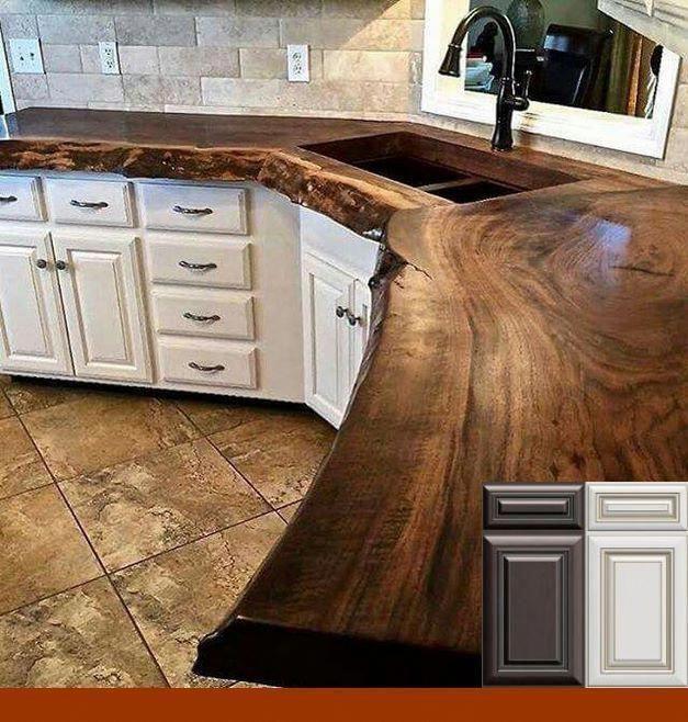 Idées d'armoires de cuisine - Faisletoimeme #houseinteriorrustic