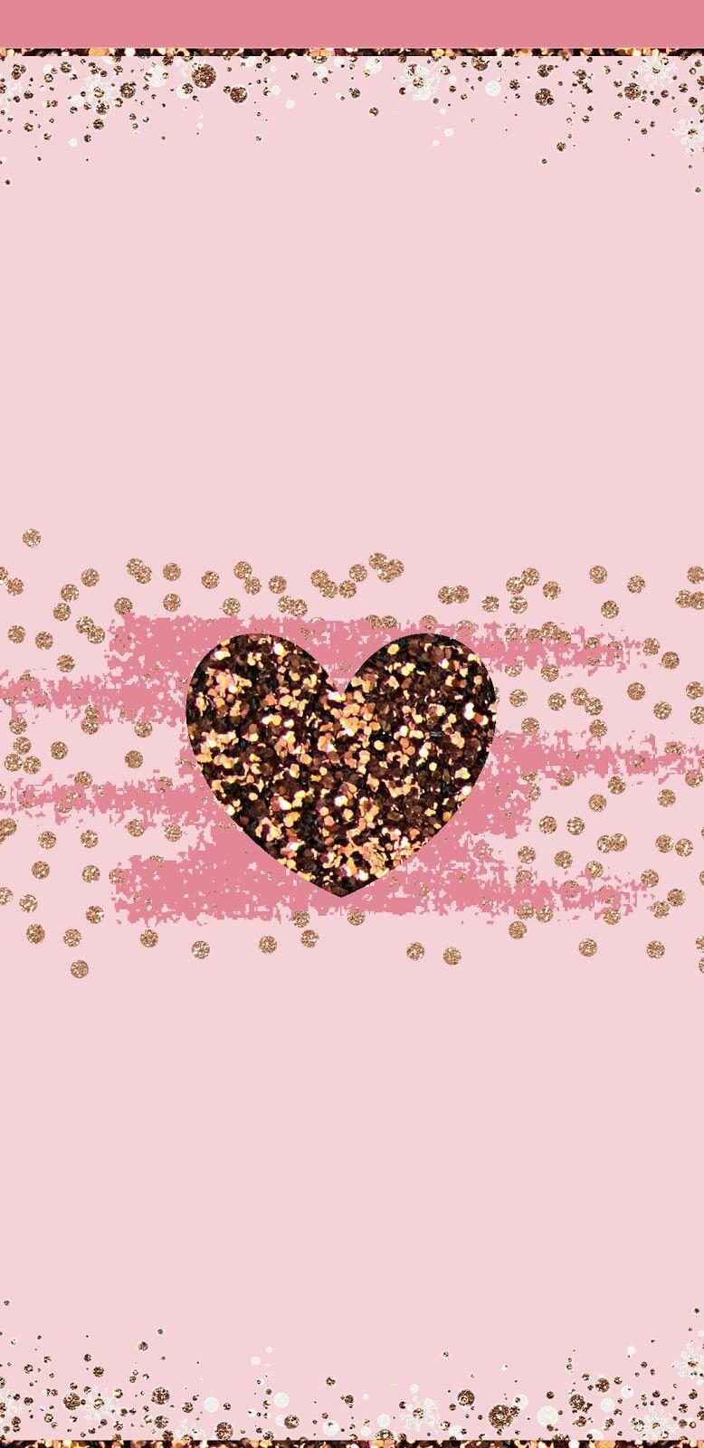 Girly Pink Glitter Wallpaper Note8love Wallpapers Femininos Wallpaper Legais Papel De Parede Do Iphone