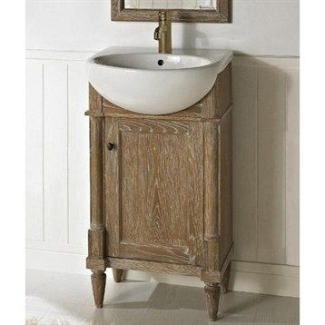 Fairmont Designs Rustic Chic 20 Vanity Sink Set Weathered Oak