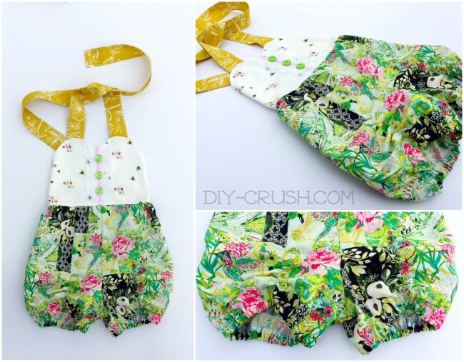 Free Sunsuit Pattern With Tutorial - Page 2 of 2 | Sewing ...