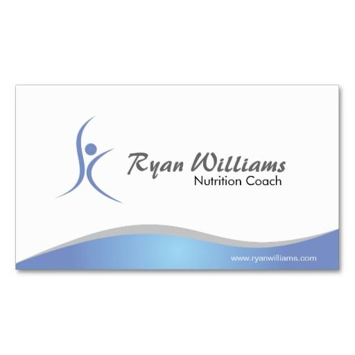 Fitness and Nutritionist - Business Cards   Nutritionist Business ...