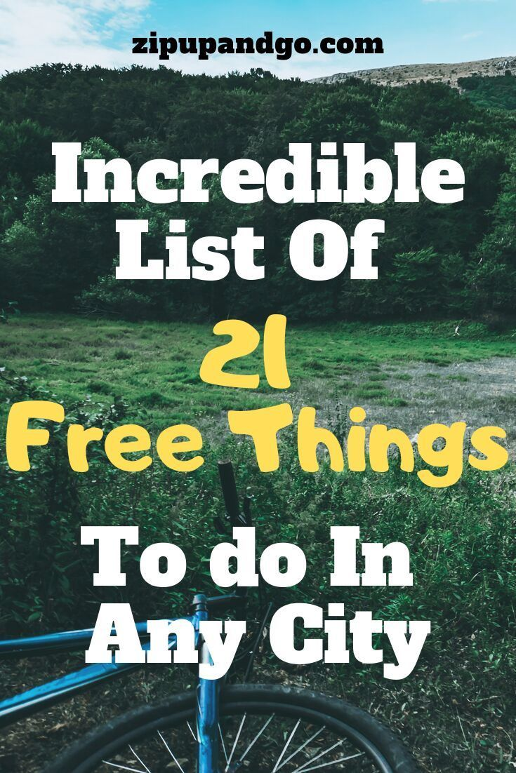 Planning a vacation on a Budget and searching for free things to do? Free activities will make your holiday a fun one! We gathered an incredible list of 21 free things to do in any city here in this post. Find out now!    #freethingstodo #traveltips #budgettravel #budgetholiday #freeactivities #funholiday