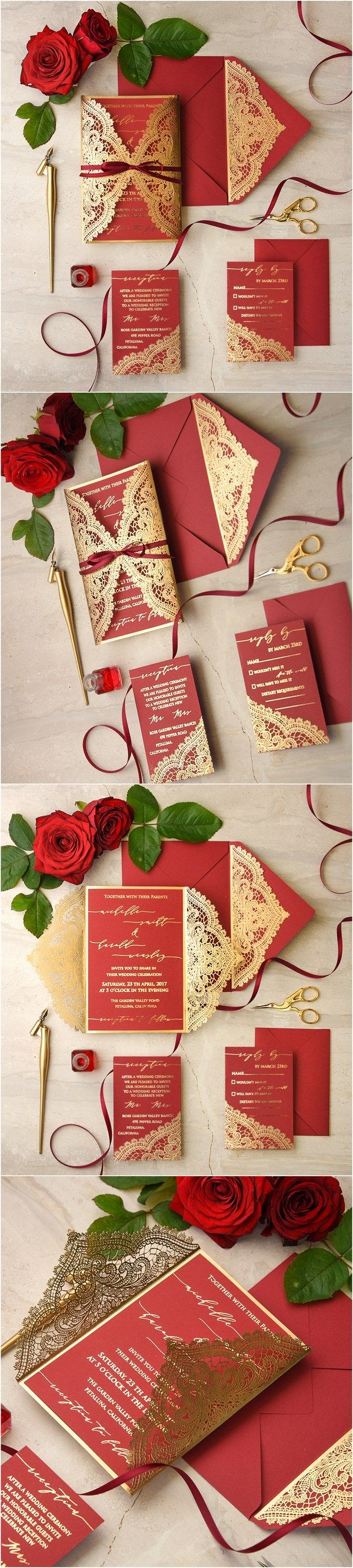 We Love: Laser Cut Wedding Invitations @4lovepolkadots in 2018 ...