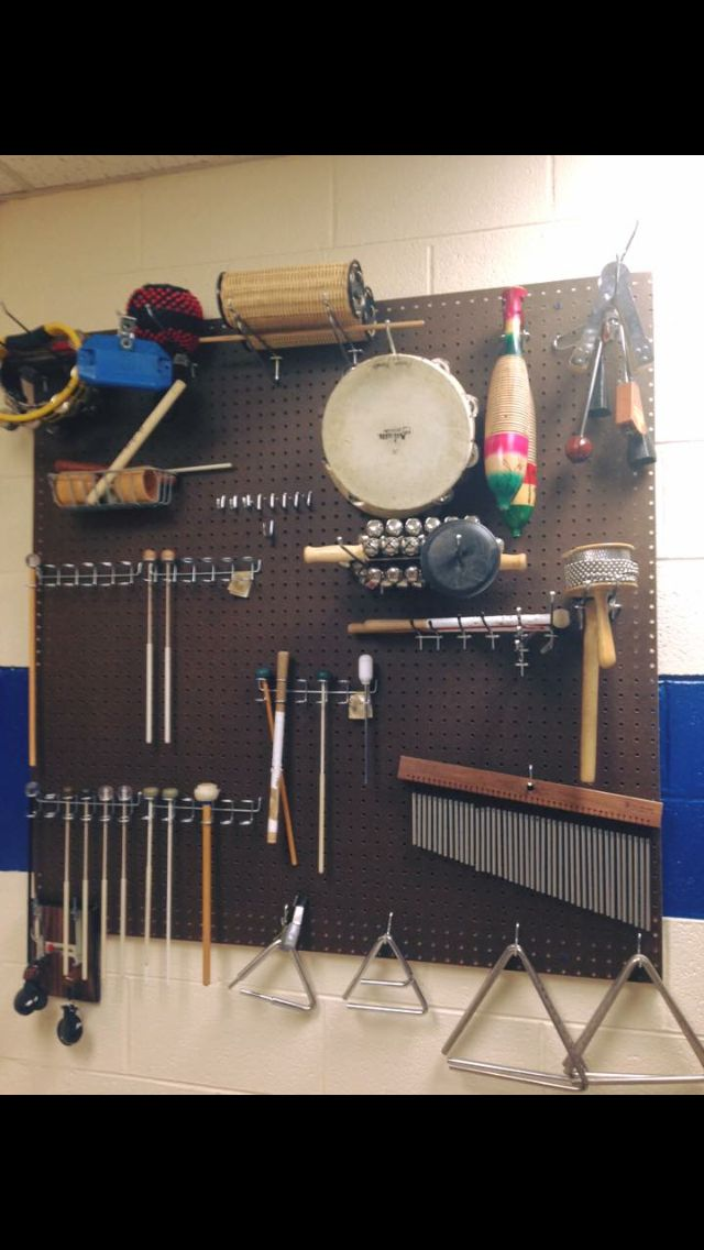 Band Room Design: Music Room Organization