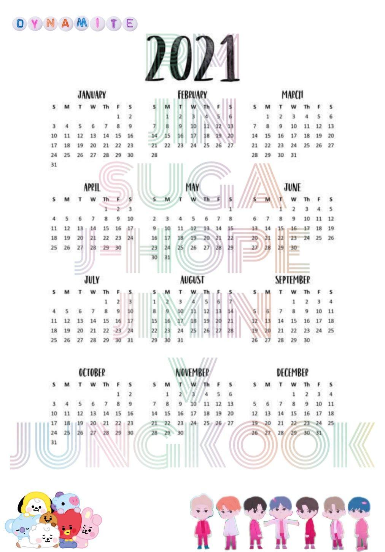 Kalender Bts