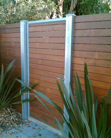 Posts Planter Fence