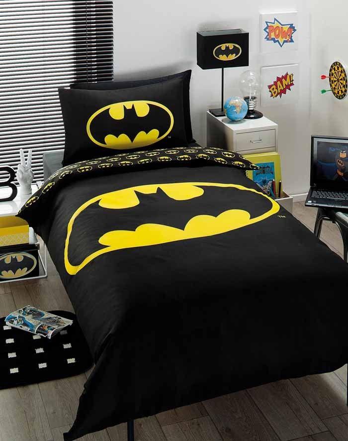 Great Comic Comforter Batman Comforter Cover Set Bedroom