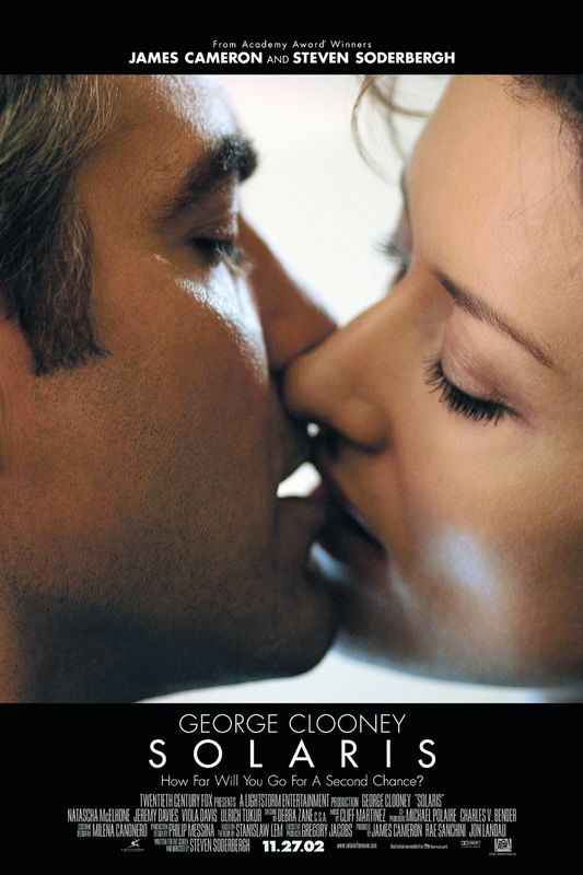 Solaris 2002 George Clooney Imdb Movies Natascha Mcelhone