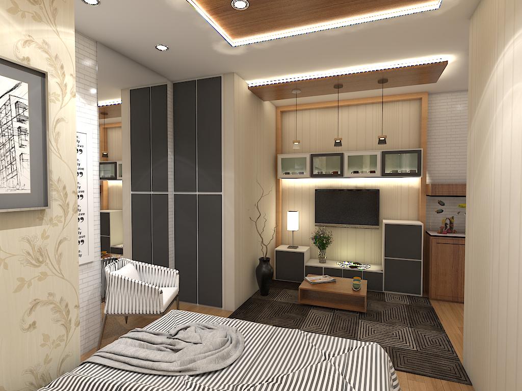 APARTEMEN JAKARTA, INDONESIA | Interior design, Interior ...