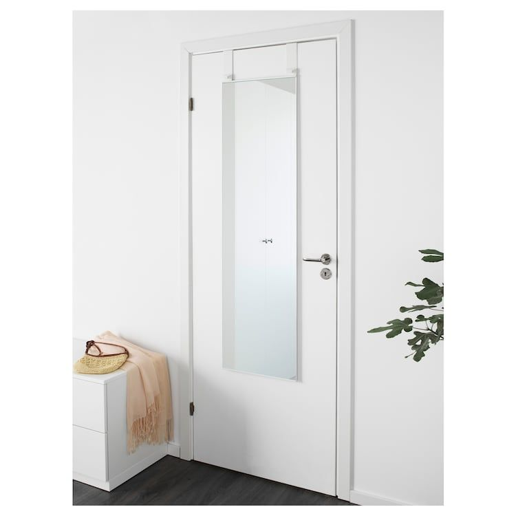Us Furniture And Home Furnishings Over The Door Mirror Mirror Door White Doors