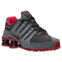 Nike Shox Nz Grey And Red