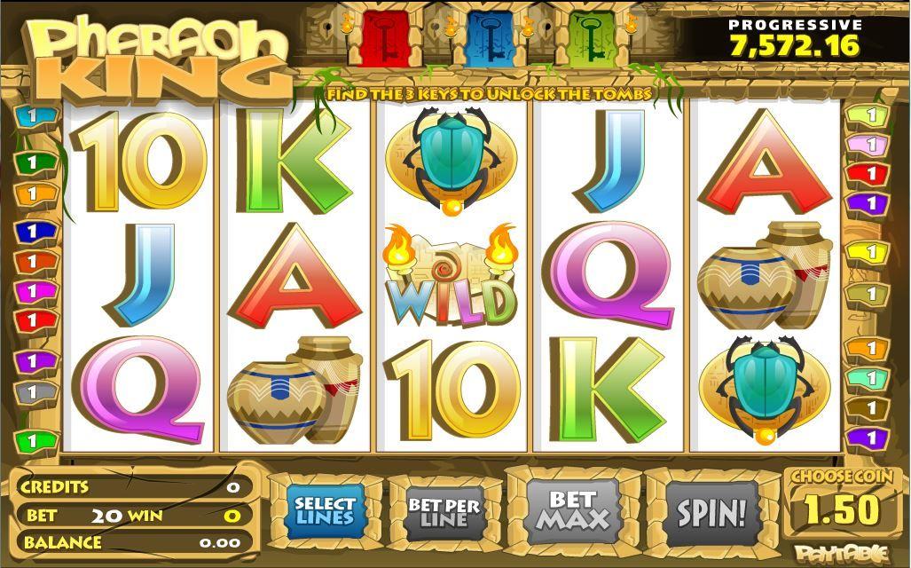 Mari bermain di Royalewin 3D slot(Pharaoh King) Kunjungi