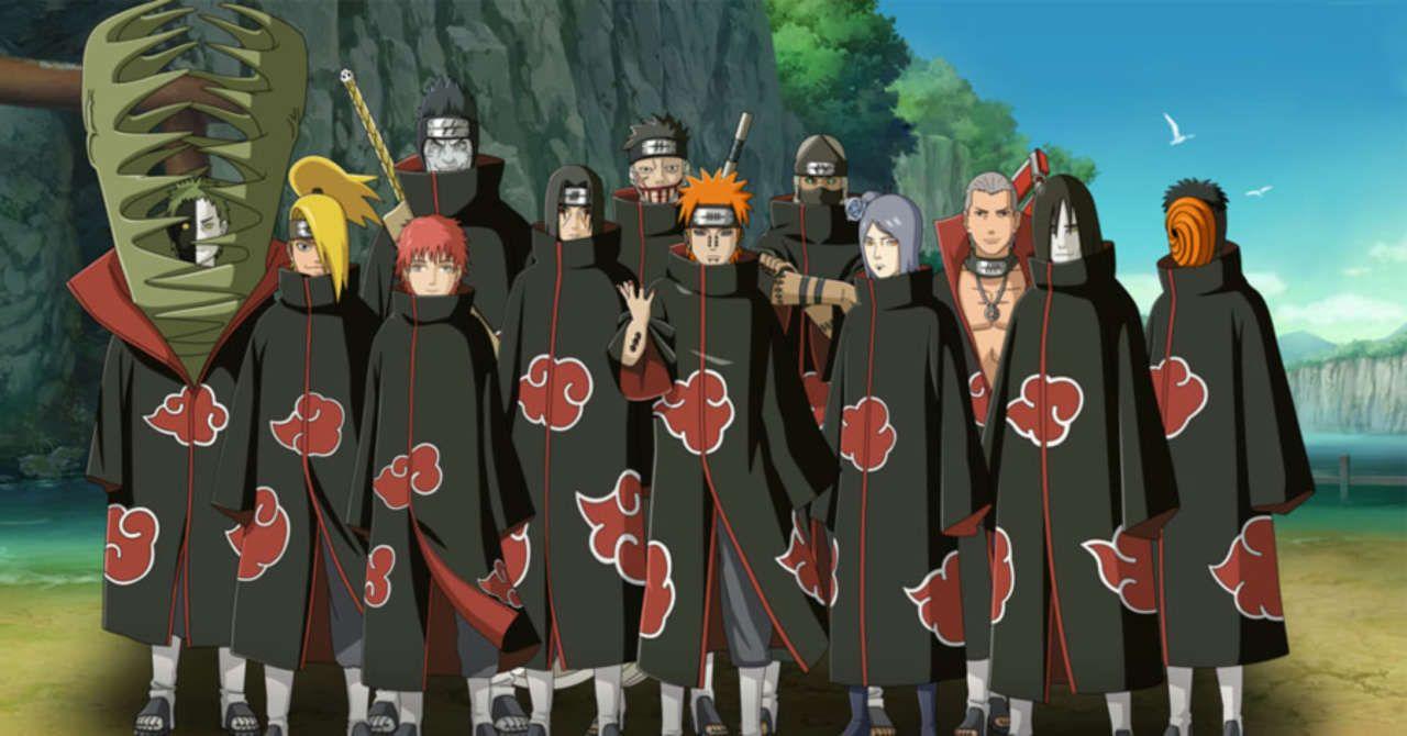Naruto Ranking The Akatsuki S Strongest Ninja Akatsuki Akatsuki Clan Naruto
