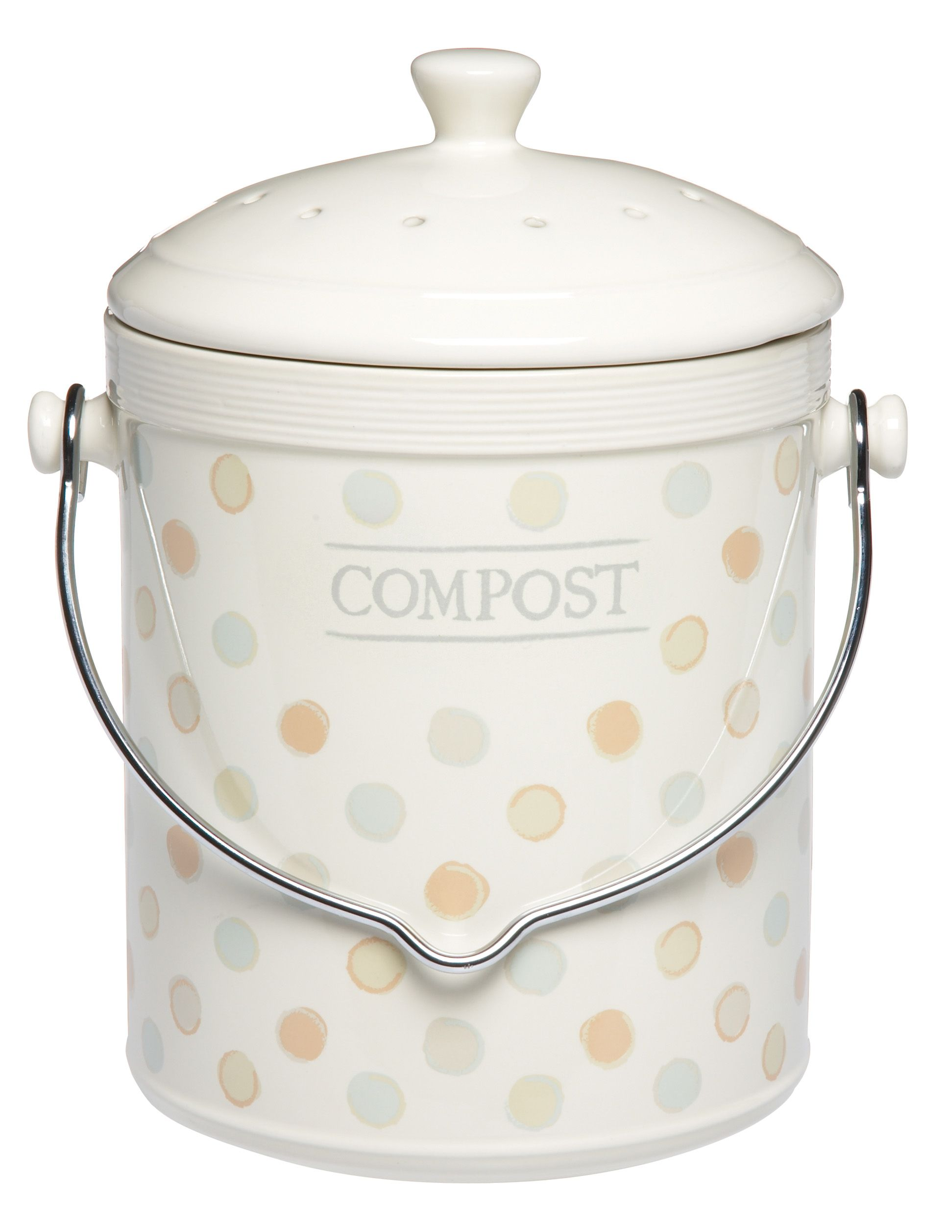 kitchen craft classic collection ceramic compost bin the classic