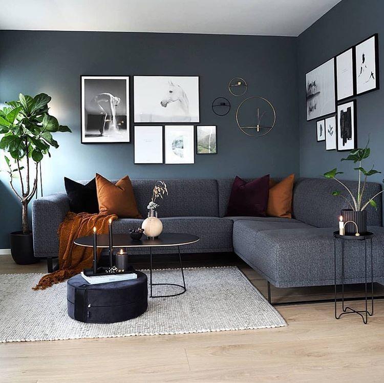 """Interiör & skandinavisk dekor på Instagram: """"Det underbara vardagsrummet på @ carinas_385 👈🏻 …"""