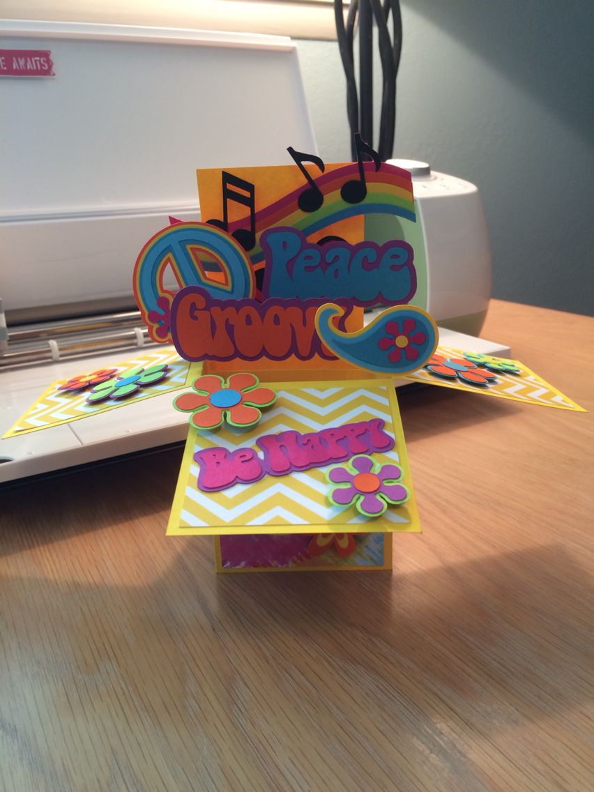 card in a box  peace  love  peace and love cards desserts