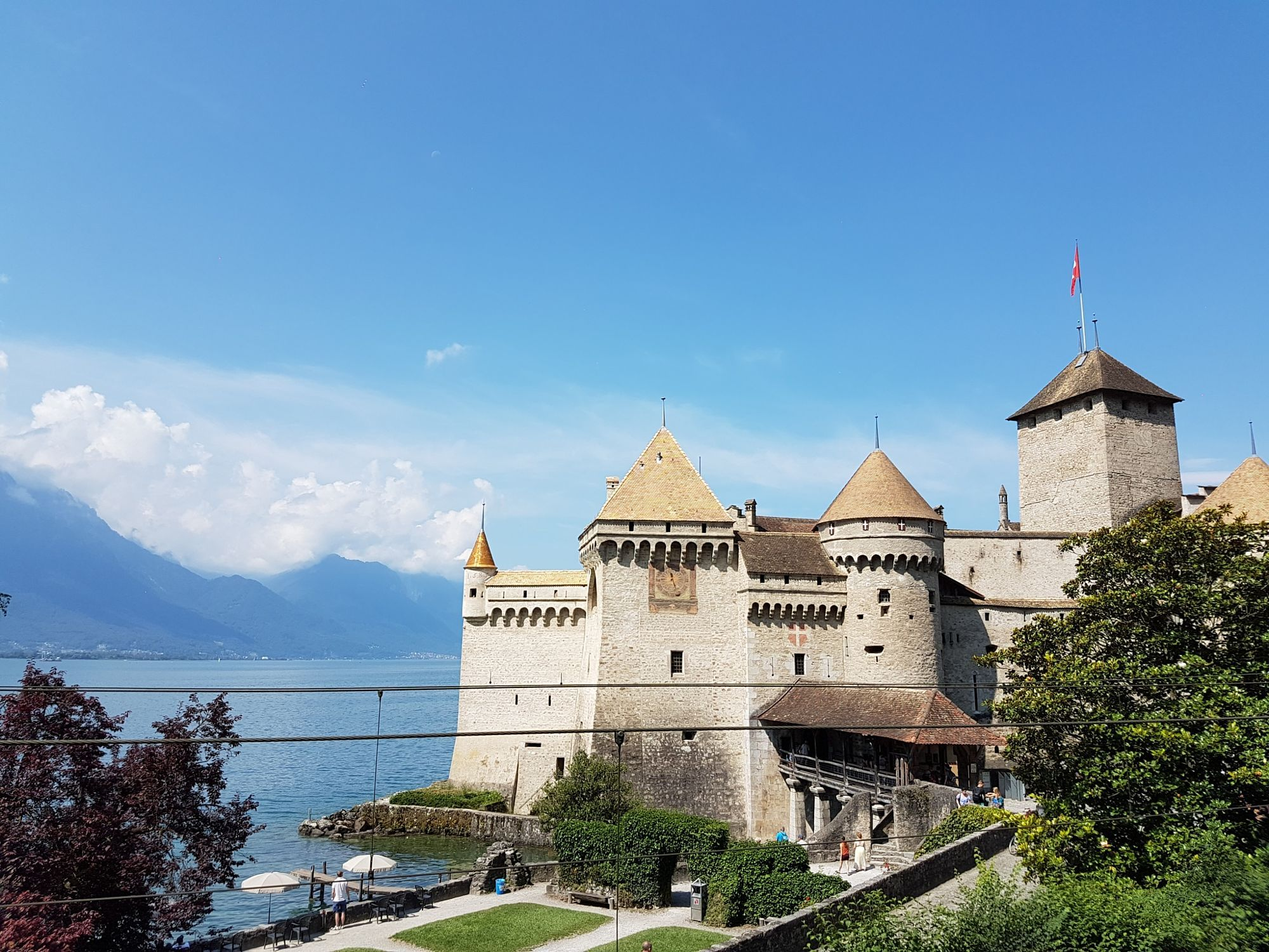 Cillon Castle Montreux  Switzerland  Travel photo by butiuovidiu http://rarme.com/?F9gZi