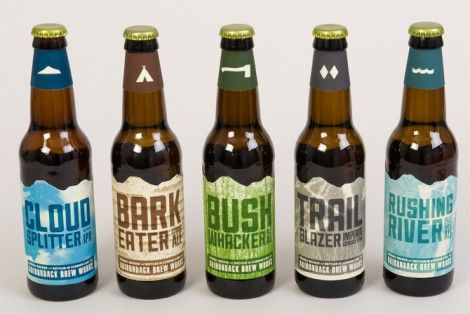 Adirondack Brew Works Bottles