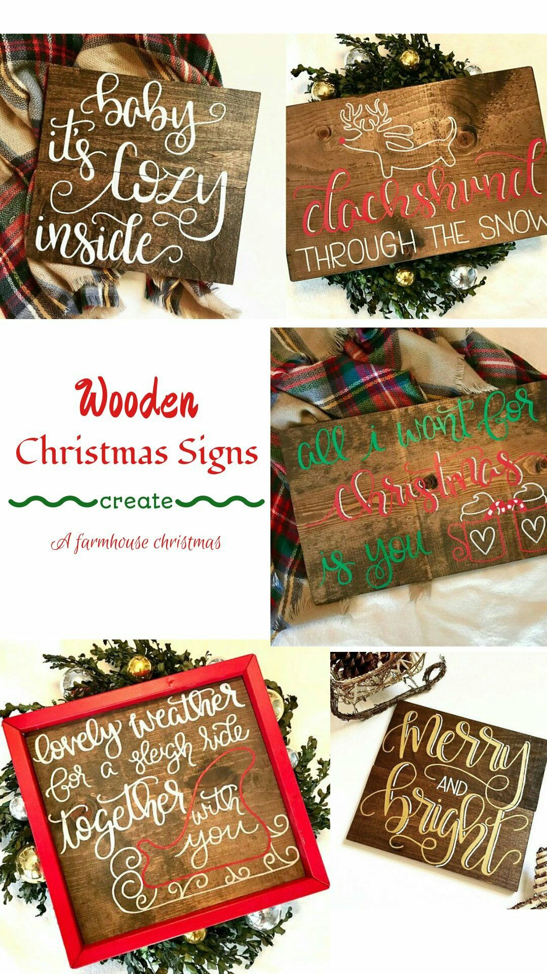 These Hand Painted Christmas Signs Are Amazing Look At That