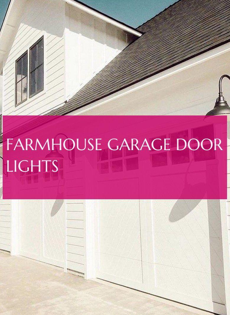 Bauernhaus Garagentor Lichter Garage Door Lights Home Decor Garage Doors