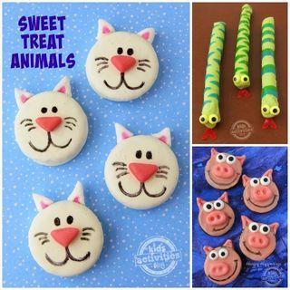 Sweet Animal Treats - Oreo Cats