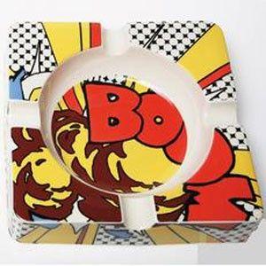 Asbak Pop Art Comic Boom Allesinwonderland Nl Popart Retro Gadgets