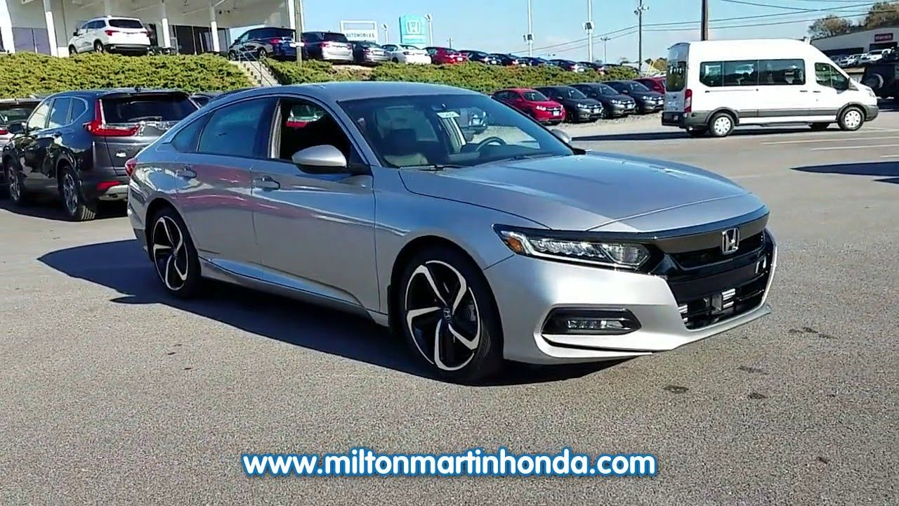 NEW 2018 Honda ACCORD SPORT CVT at Milton Martin Honda NEW