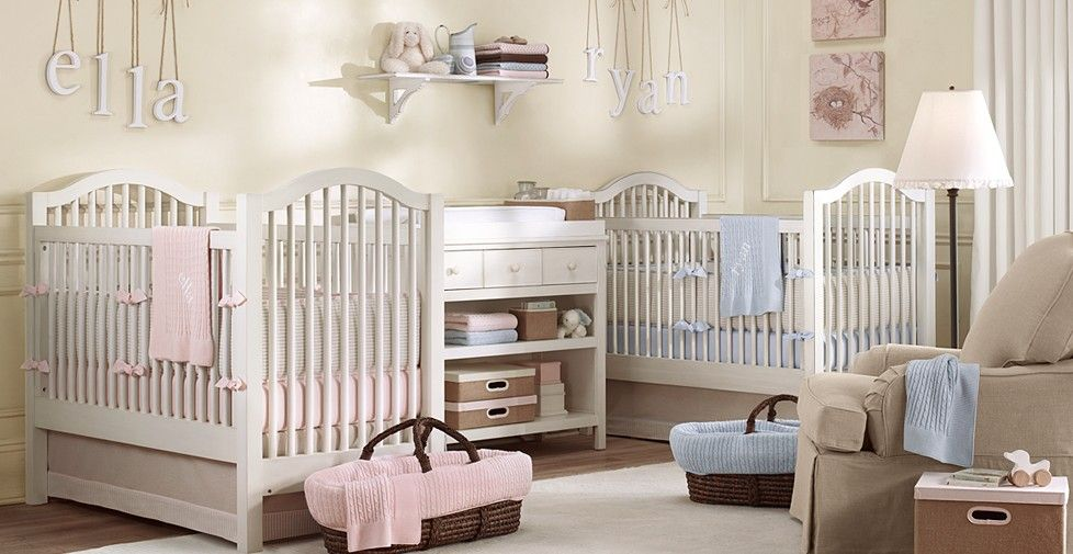twins nursery - boy & girl | Gêmeos | Pinterest | Spielflächen und ...