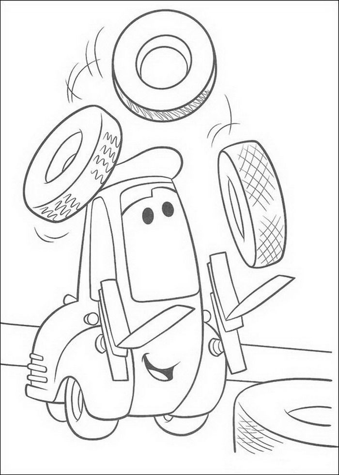 Dibujos De Cars Para Colorear Guido Pinterest Kid Activities Chris Brown Para Colorir