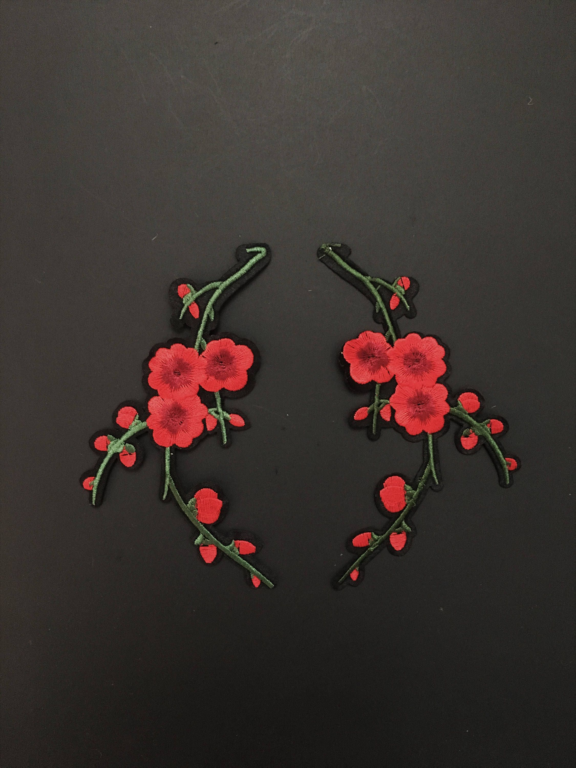 1120720def41c Embroidery Patch-Gucci Style Patch-Patches-Iron on Patch-Shoe flower ...