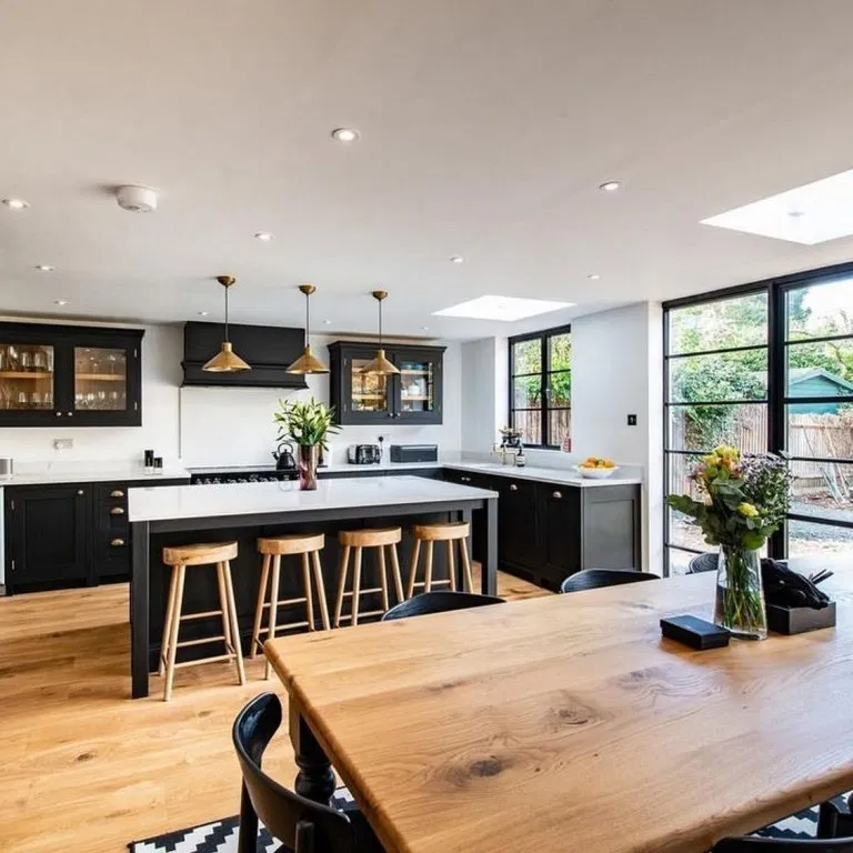 36 Inspiring Kitchen Design Ideas From Pinterest Megasiana Com Kitchen Open Plan Kitchen Living Room Open Plan Kitchen Diner Open Plan Kitchen Dining Living