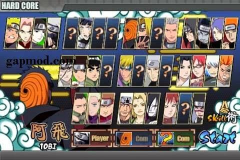 How To Unlock Hardcore Mode And Get 999999 Coins In Naruto Senki V1
