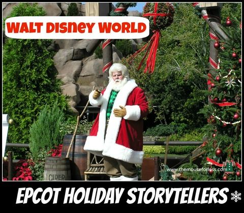 Epcot Christmas Storytellers 2020 2020 Christmas Holiday Activities and Events at Walt Disney World