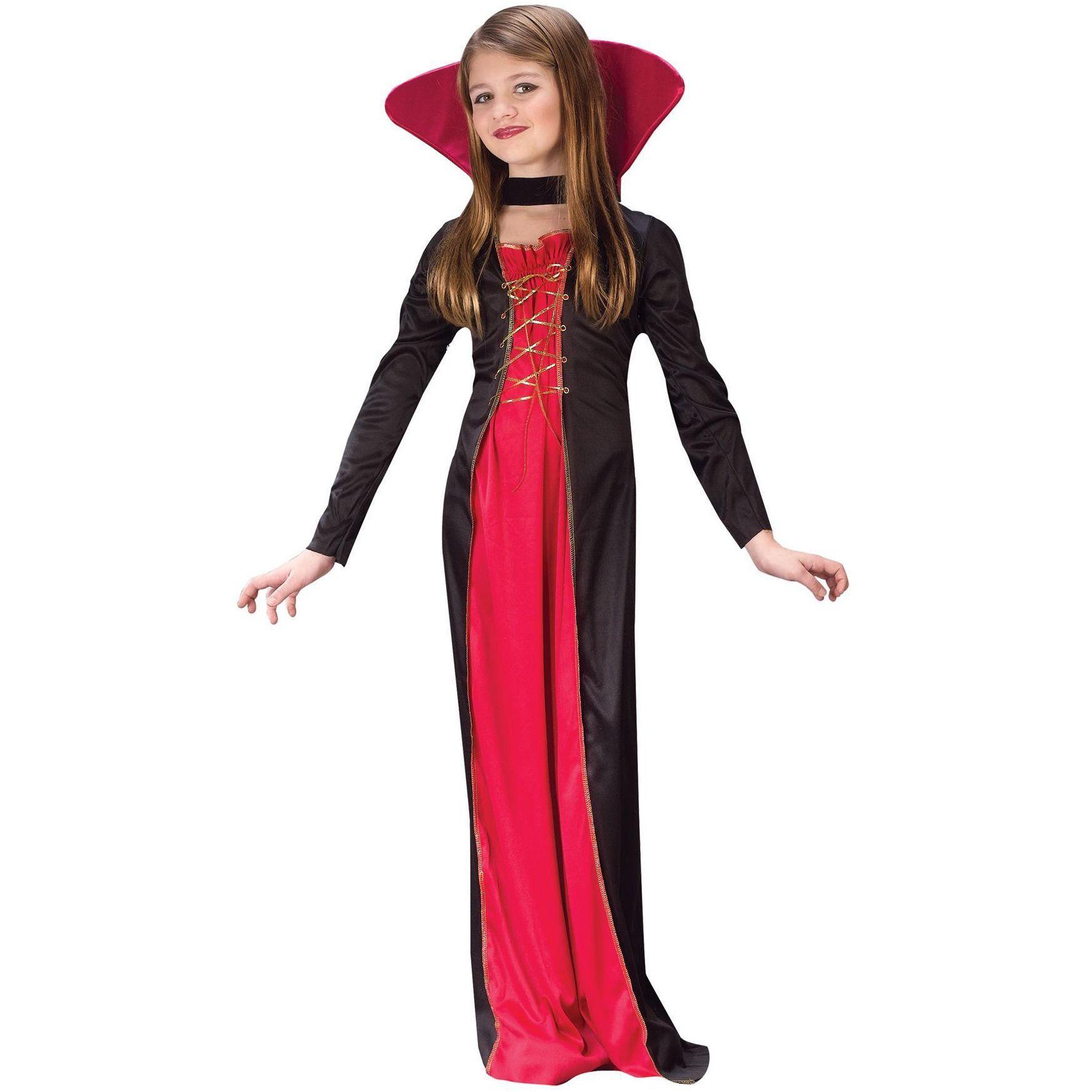Victorian Vampiress Child 8-10